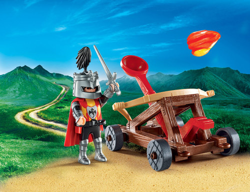 Playmobil Knight's Catapult Carry Case