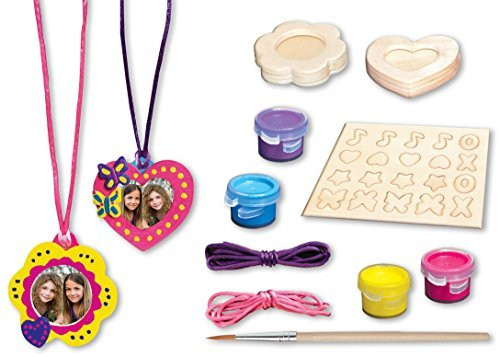 Masterpieces Works of Ahhh Pendant with Charms Small Peggable Wood Paint Kit - QTS Toy Drive