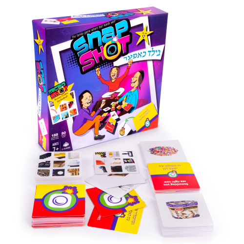Snap Shot The Quick Thinking and Fast Matching Card Game for All Ages - 2 + Players - QTS Toy Drive