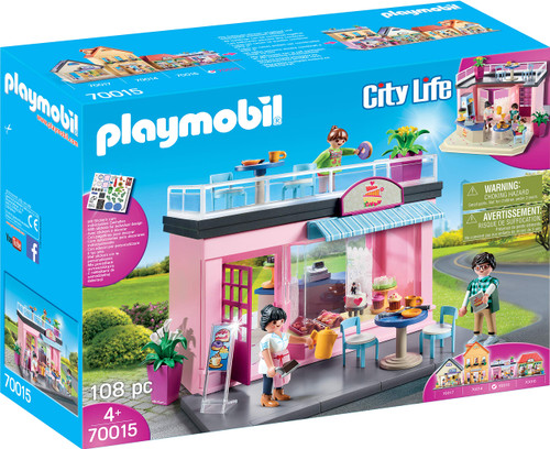 Playmobil My Cafe Playset - QTS Toy Drive