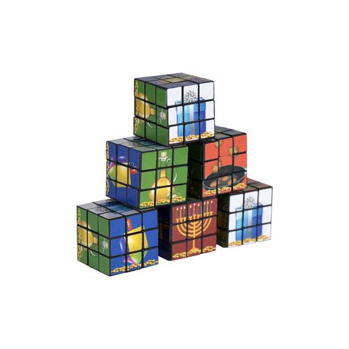 Chanukah Cube Key Ring - 6 Pieces