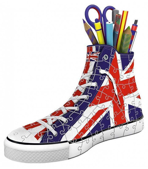 Ravensburger 3D Puzzle Sneaker Union Jack 108 Pieces