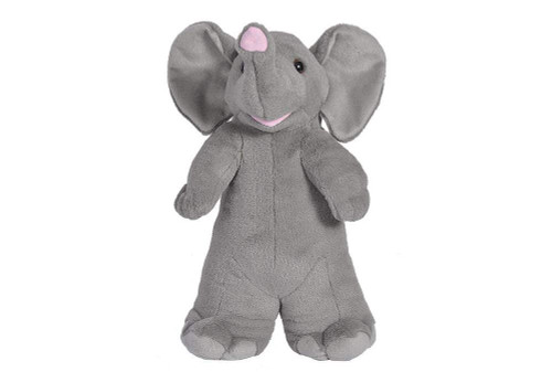 Wild Republic Elephant Plush, Stuffed Animal, Plush Toy, Gifts for Kids, Standing Buddies 13""
