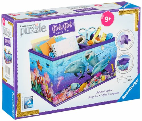 Storage Box - Underwater Design 216 Piece 3D Puzzle