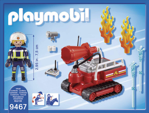 PLAYMOBIL Fire Water Canon