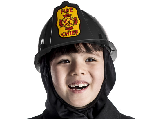Black Fire Helmet Kids Size