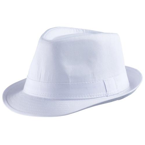 Dress Up America Unisex-Adult's White Fedora Hat