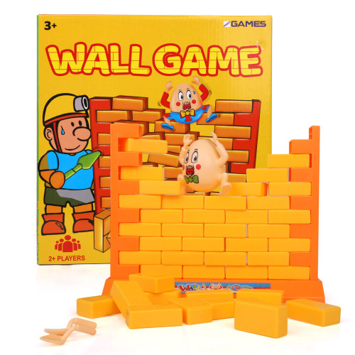 Point Games Humpty Dumpty Wall Game - Wall Game with an Egg - Family Board Games - Family Party Games - 2-Players Games for Kids - Funny Board Games