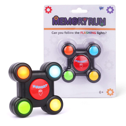 Point Games Memory Run - Electronic Memory Handheld Game with Lights - Competitive Maze Challenge Gameplay -Cognitive Developmental Brain Teaser Puzzle Toy - Kids Ages 6+
