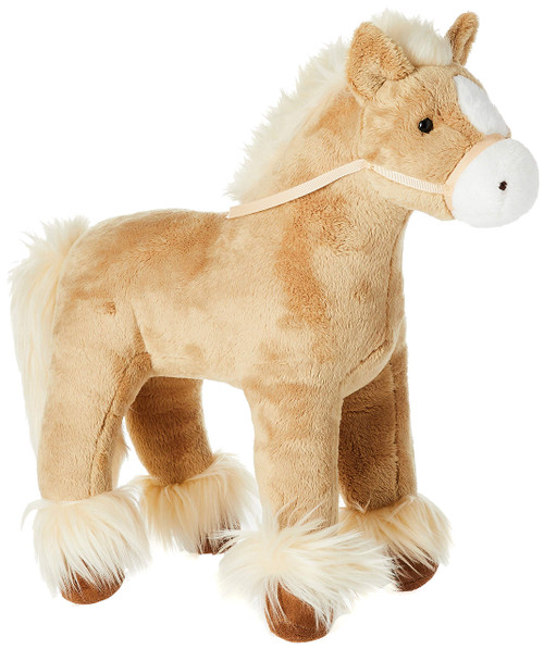 GUND Dakota Clydesdale Horse Standing Stuffed Animal Plush, Tan, 15""
