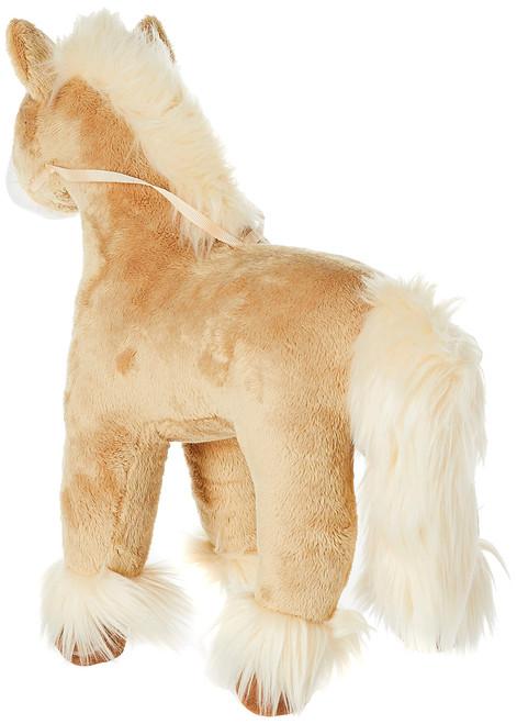 "GUND Dakota Clydesdale Horse Standing Stuffed Animal Plush, Tan, 15"""