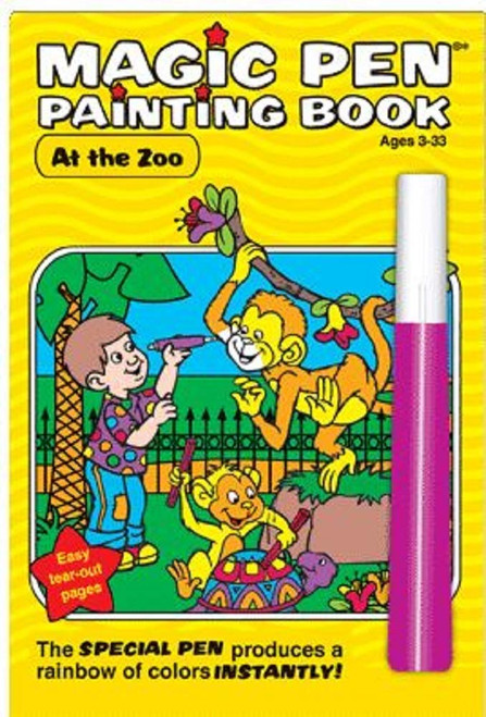 Magic Pen Painting Book (At the ZOO)