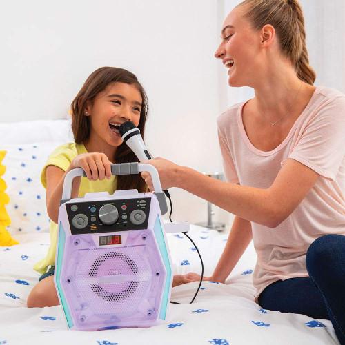The Singing Machine SML2200 Glow Bluetooth CDG Karaoke Machine