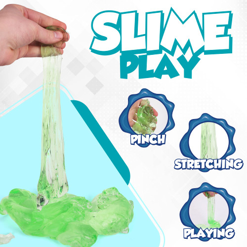 Slime Play, Glitter Slimey Puty Slime, Stress Relieving Butter Slime Putty, Glitter Fun Slime Time, Fun for Boys and Girls, Party Pack of 12, Ages 6+