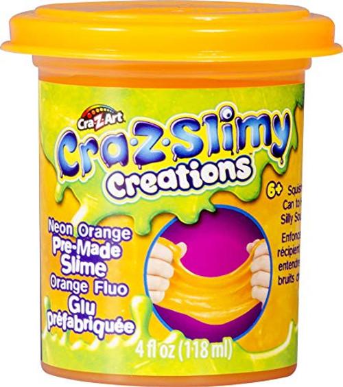 Cra-Z-Art Cra-Z-Slimy Premade Single Cans Slime, 4 Oz (1) Can, Random Color