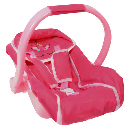 Baby Doll car seat and Diaper Bag for Dolls -Great Baby Doll Accessories for Travel (Car Seat)