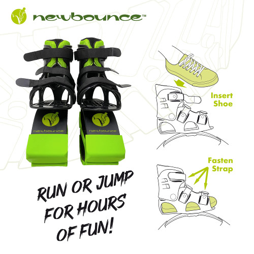 New Bounce Jumping Shoes - Kangaroo Jumping Shoes for Kids - Exercise Bouncing Shoes - One Size Fits All