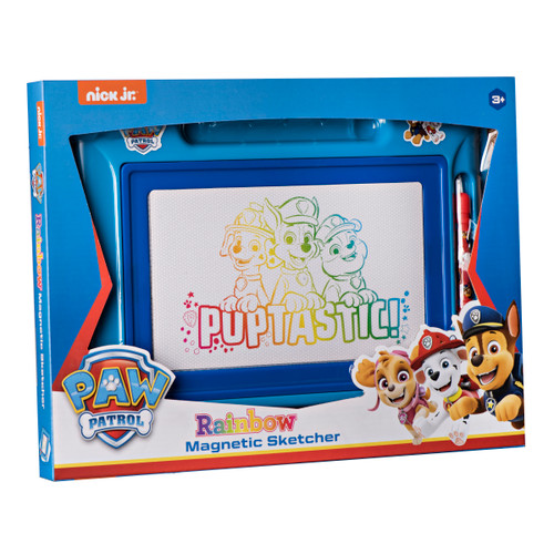 Paw Patrol Magnetic Doodle Board - Etch a Sketch Classic, Magnetic Drawing Board for Kids,  Great Toy for Toddlers Learning, Boys and Girls Ages 3+