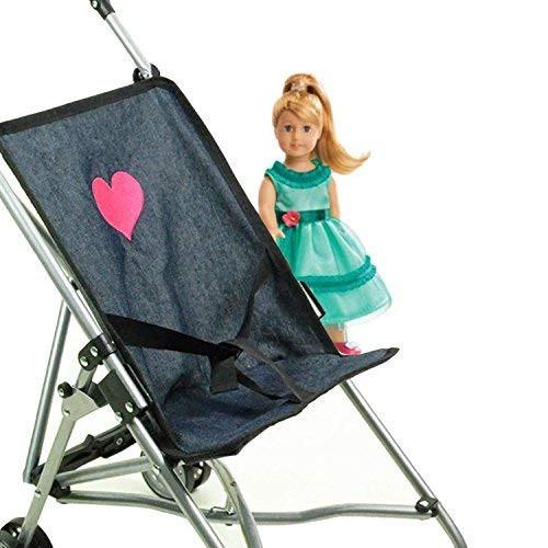My First Umbrella Doll Stroller in Denim for Toddler