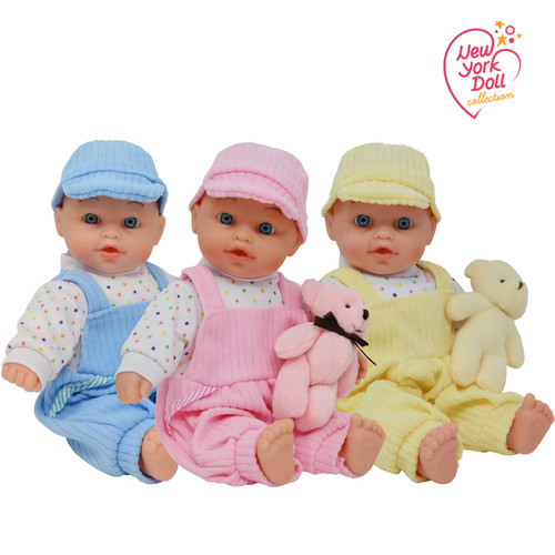 Triplet Baby Dolls - Toy Baby Doll Accessories Gift Set for Toddler and Girls They Will Love - Triplets Doll Set Includes Girl and Boy Doll