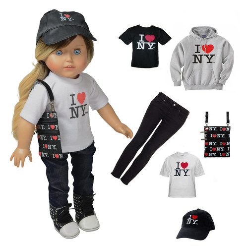 Kay - 18 Inch Tourist Doll Clothing Accessory Set - Classic