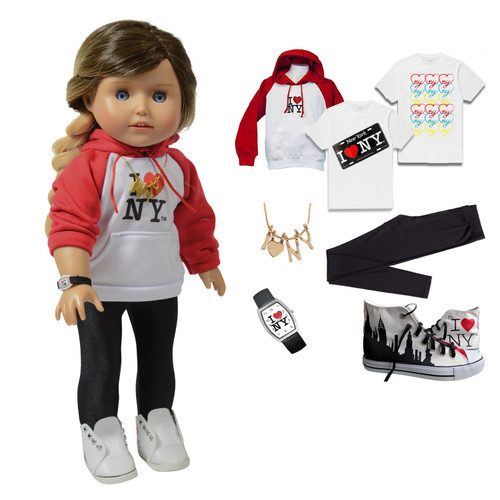 Kay - 18 Inch Tourist Doll Clothing Accessory Set - Hip  H103