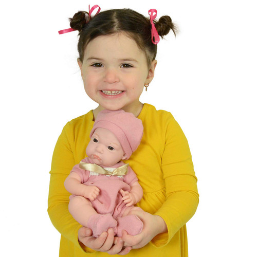 12 Inch Newborn Life Like Baby Dolls for Girls - Vinyl Body and Realistic Doll Features - Bonus Baby Doll Clothing