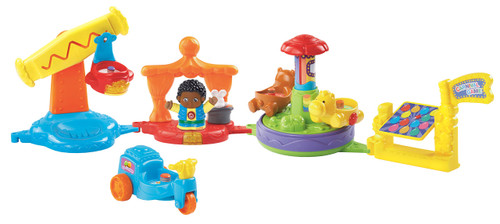 VTech Go! Go! Smart Friends Austin's Spin-Around Sounds Carnival