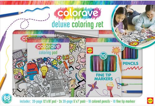 Alex Toys 531860 Colorave Deluxe Coloring Set-