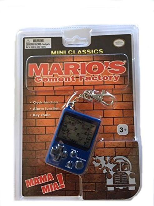 Carrera Nintendo Mini Classics Mario's Cement Factory with Keychain USA