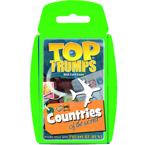 Countries of the World Top Trumps Card Game