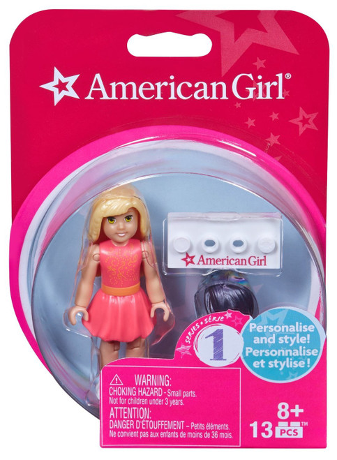 Mega Construx American Girl Series 1 American Girl #1 Collectible Figure
