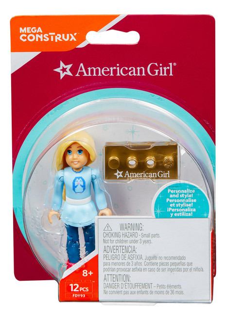 Mega Construx American Girl Ugly Sweater Playset