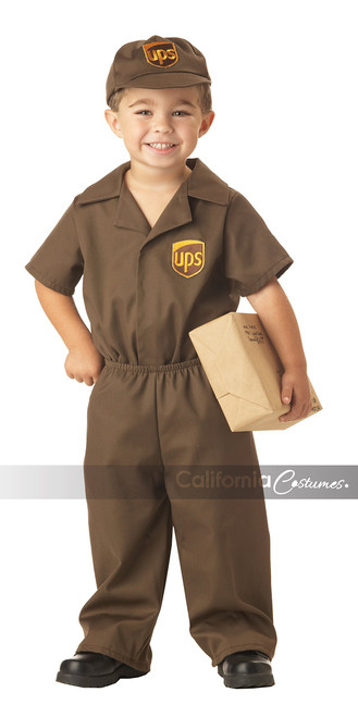 Ups Driver Toddler Costume