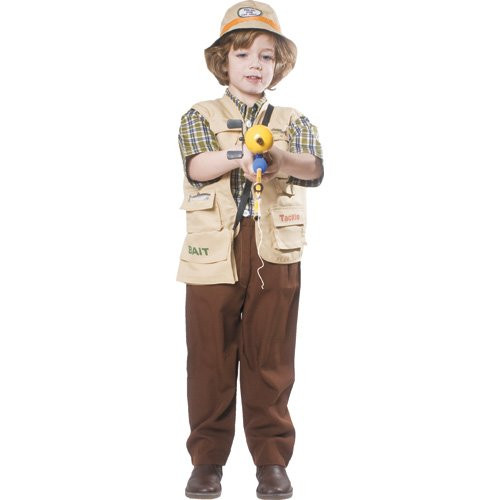 Boys Fisherman Costume By Dress Up America - Toddler 4