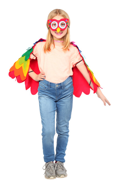 Colorful Parrot Costume - By Dress Up America