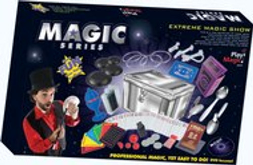 Magic Series #1215 - Professional Magic, Easy to do - DVD Included