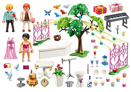 PLAYMOBIL Wedding Reception Building Set