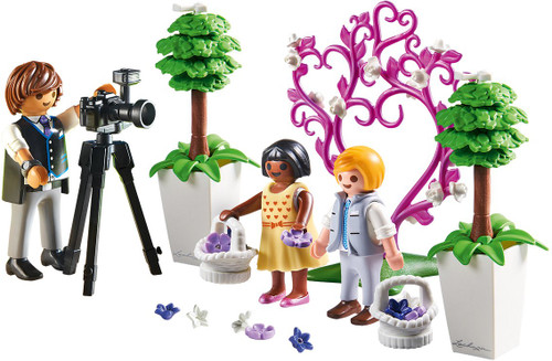 PLAYMOBIL Children with Photographer Building Figure