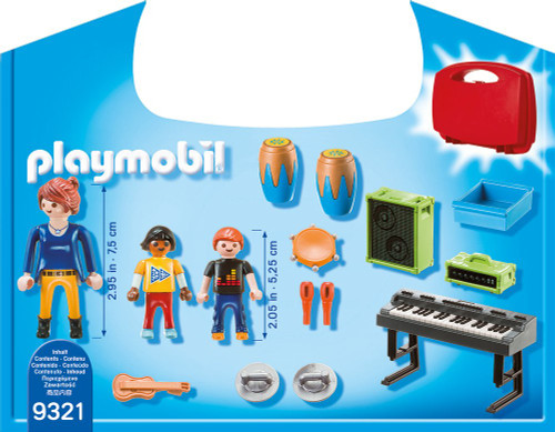 PLAYMOBIL Music Class Carry Case Building Set