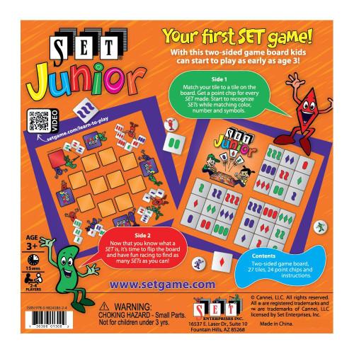 SET Junior Board Game