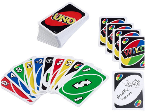 Mattel Uno & Bold Card Games, Two Pack