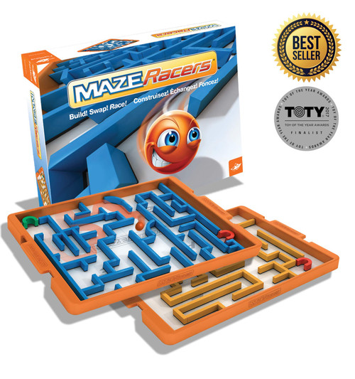 Maze Racers - The Exciting Maze Building and Racing  Game