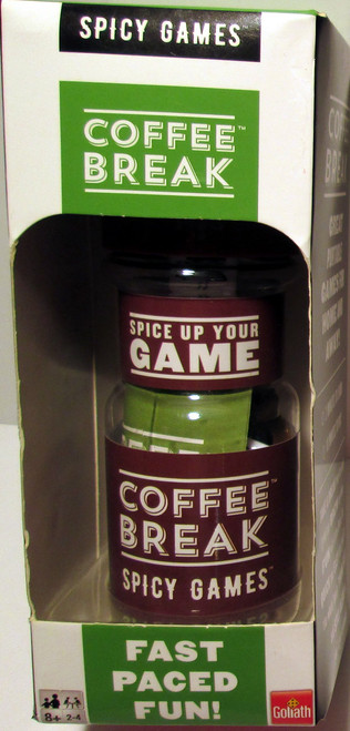 Coffee Break Spicy Games Fast Great portable games for home and away