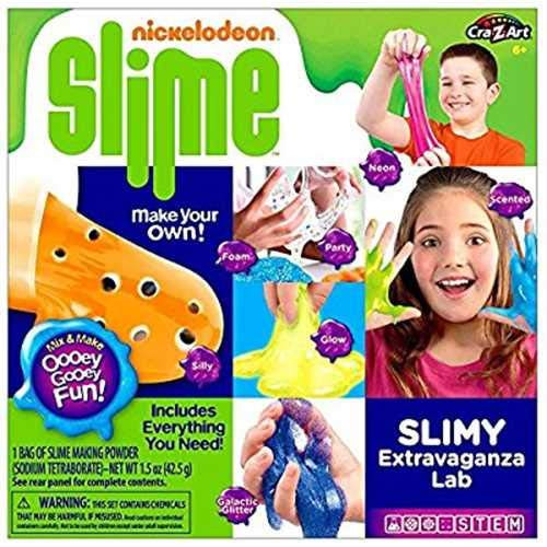 Nickelodeon Slime - CRA-Z-Slimy Extravaganza Lab