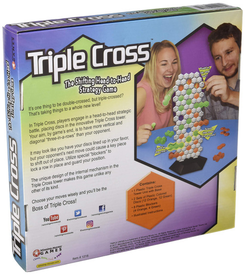 Winning Moves Games Triple Cross