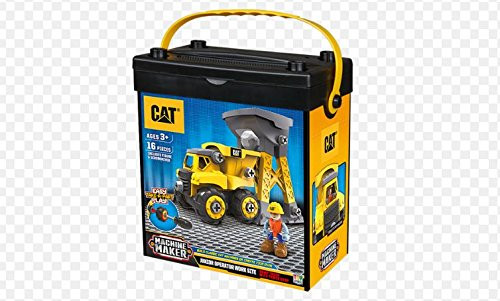 Toy State Caterpillar CAT Junior Operator Dump Truck Construction Vehicle