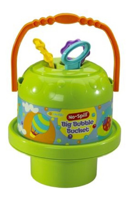 Little Kids Fubbles No-Spill Big Bubble Bucket (Colors may vary)