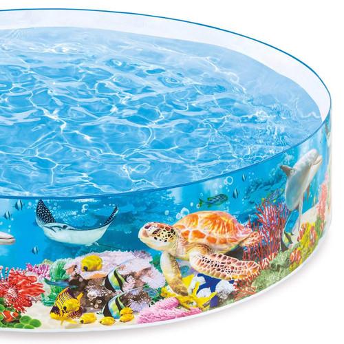 Intex Deep Sea Blue SnapSet Kiddie Swimming Pool