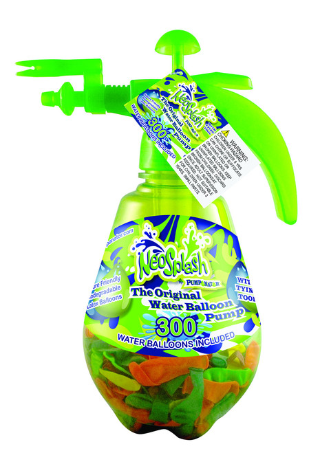Pumponator NEOPUMP Balloon Pump, Neon Green,; 12 x 9 x 5